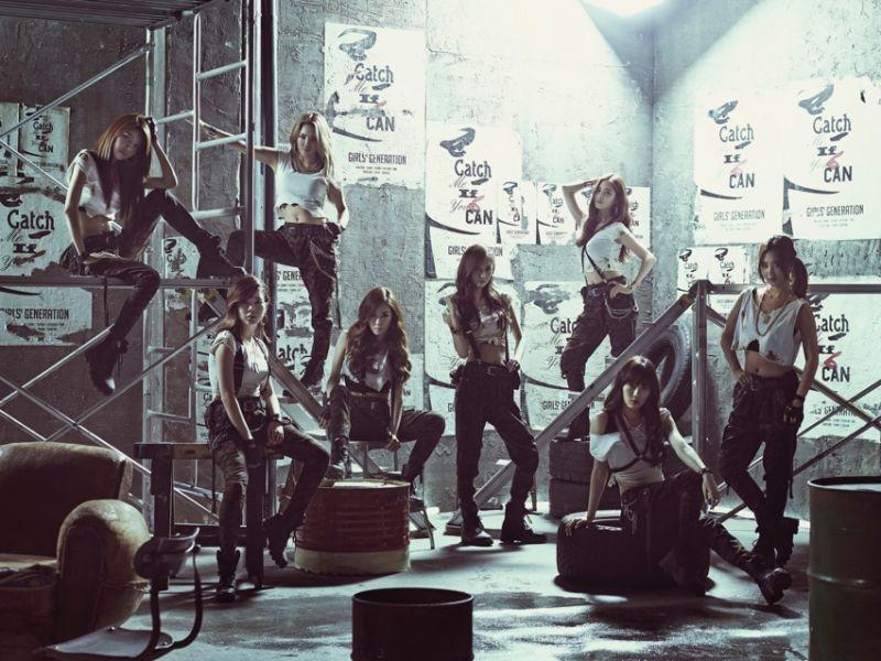 少女時代新曲《Catch Me If You Can》MV日韓同步公開
