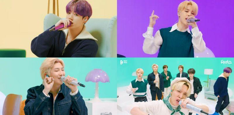 防弹少年团作为「歌手」回归最单纯的舞台:串烧自己的歌曲 BTS ROOM LIVE 献唱温暖粉丝的心!