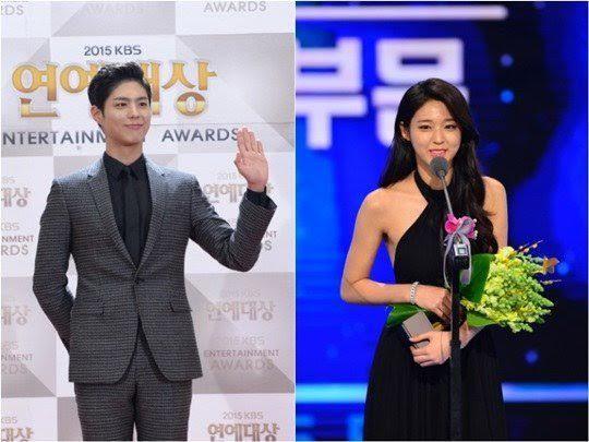 大勢+大勢!?朴寶劍&雪炫搭檔主持2016KBS歌謠大慶典