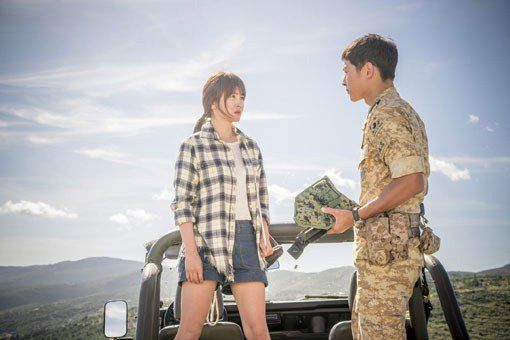 《太陽的後裔》在日本播畢僅一個月後將再度重播