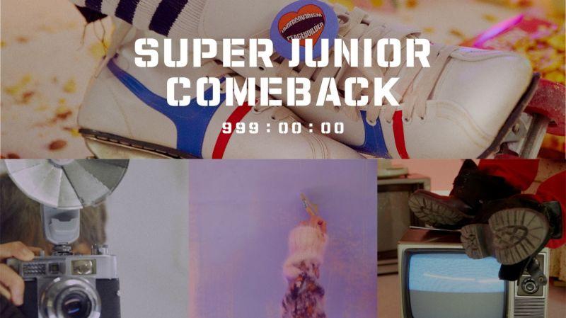 倒数999小时!SJ下月(10月)14日携正规9辑回归 官方公开复古概念照