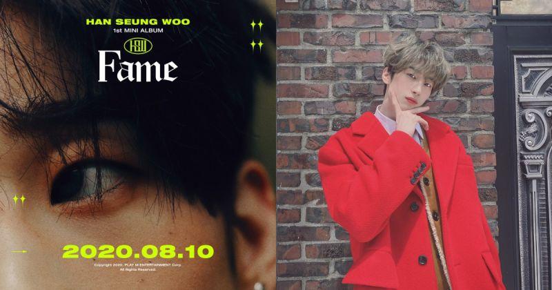 韓勝宇即將隻身出道!首張個專〈Fame〉分「韓」、「勝」、「宇」三版發行