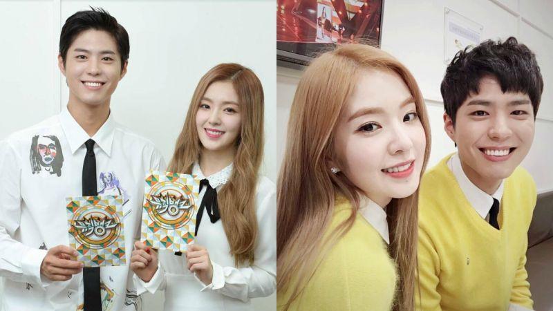 「寶琳 CP」朴寶劍、Irene 回來了!《Music Bank》15 日播出新加坡特輯