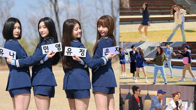 Brave Girls最想上《Running Man》宋智孝&全昭旻全員熱情挑戰女團舞!