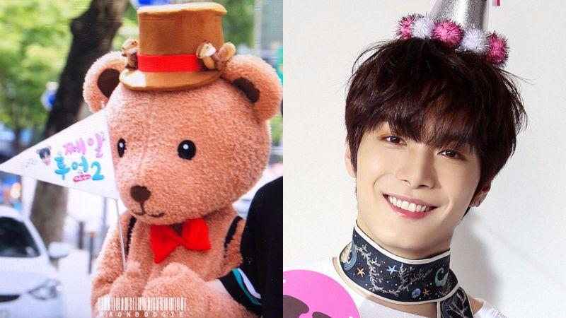 NU'EST JR變身背著龜殼的小熊!一路散發可愛魅力,認證粉絲的生日廣告應援