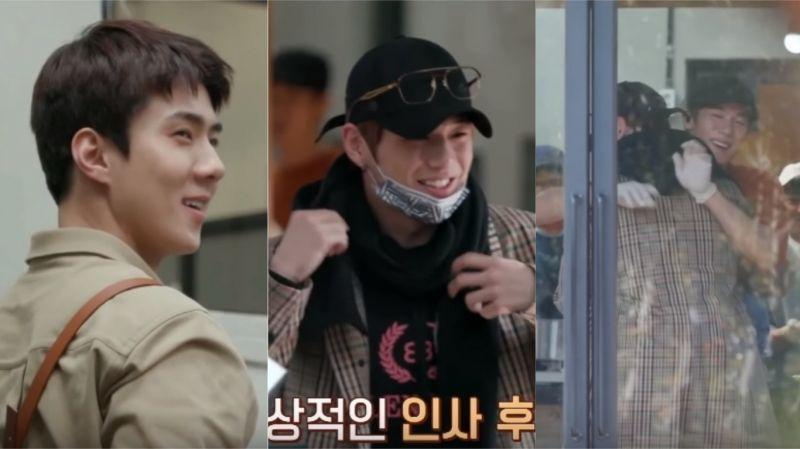 《Coffee Friends》原來柳演錫、EXO世勳、姜丹尼爾是「偶爾見面」的關係!短暫出演卻也做了不少事