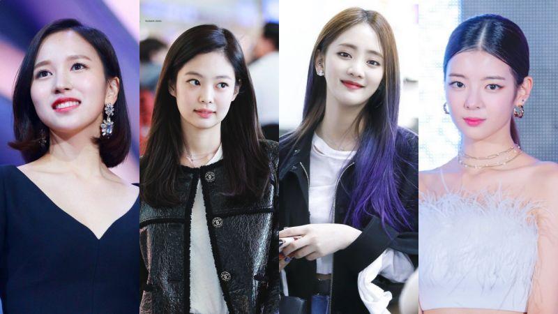 爱豆圈的「人间富贵花」:Mina、Jennie、Minnie、Lia她们的脸上写著贵气的高级脸♥