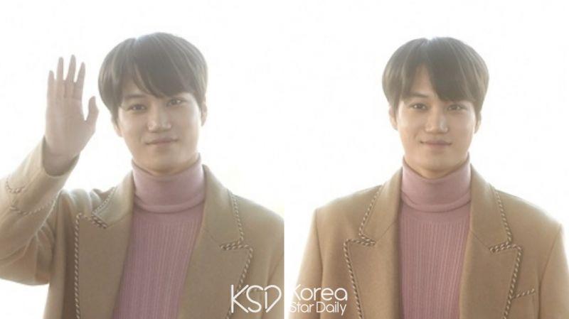 【有片】EXO KAI今日(12日)经仁川机场出国!为出席「米兰时装周」做准备