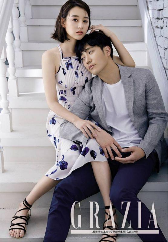 救援CP登時尚雜誌《Grazia Korea》晉久眼神超有愛