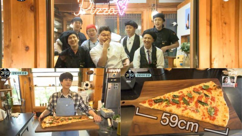 隨著圭賢的登場...《姜食堂2》瞬間變成了《姜食堂3》!七顆龍珠終於到齊,期待「曹主廚」的Pizza!