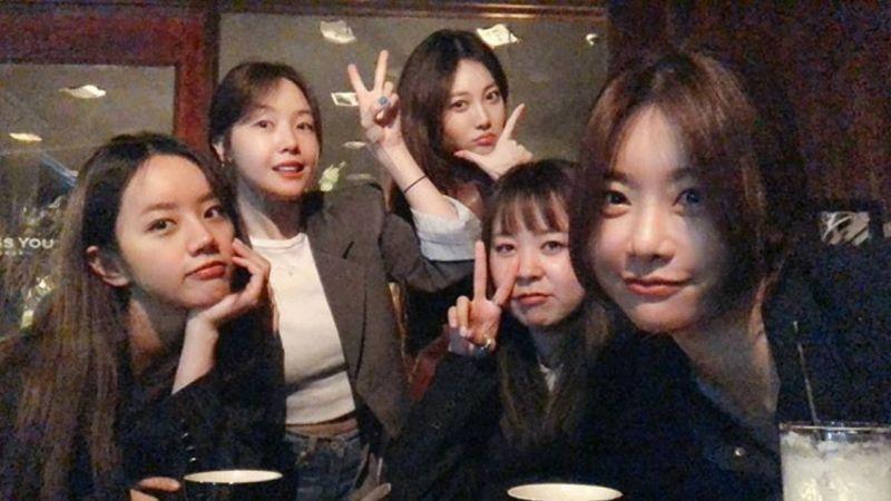 Girl's Day完整体久违聚会合照!Yura:「每次见面都想再次见面」