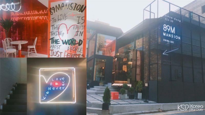 【新沙洞cafe】鍾碩歐爸咖啡廳直擊!整間店都充滿著巧思,超好拍照的啊!