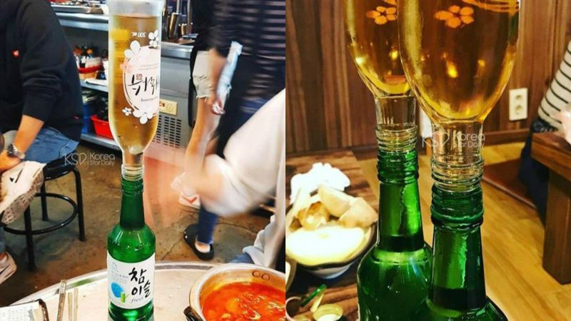 韓國炸彈酒再一發~傳說中的點滴酒?