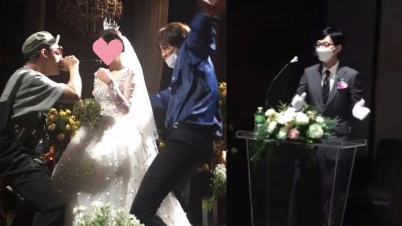 《RM》前PD結婚動員演藝圈人脈,李光洙HAHA圍著新娘爆笑跳舞