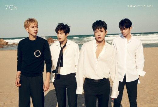 CNBLUE公開最新專輯《7℃N》完整體專輯封面&成員個人照