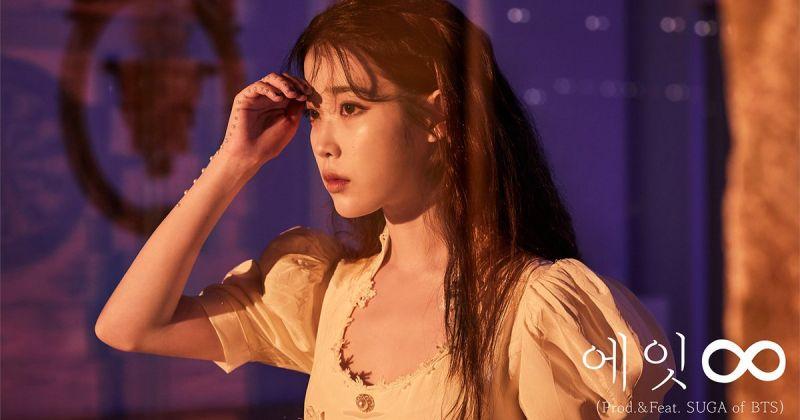 IU × Suga 持续发威 〈Eight〉音源、MV 成绩都耀眼!