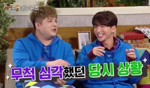 《Happy together3》神童:SJ当年发生交通事故,利特浑身是血也不忘照顾圭贤