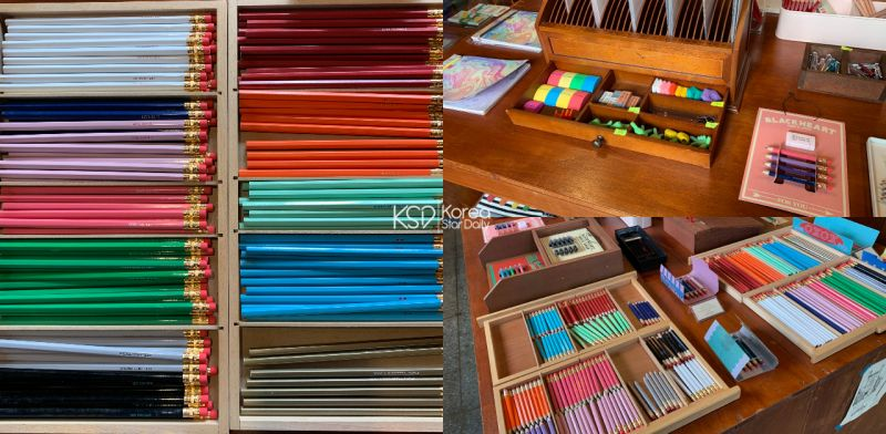 鉛筆控來韓國時一定要造訪的地方:Black Heart鉛筆店!