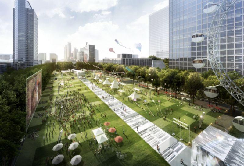 【旅游资讯】繁忙道路变城中花园!首尔市打造「永东大路广域复合换乘中心」,交通全部地下化