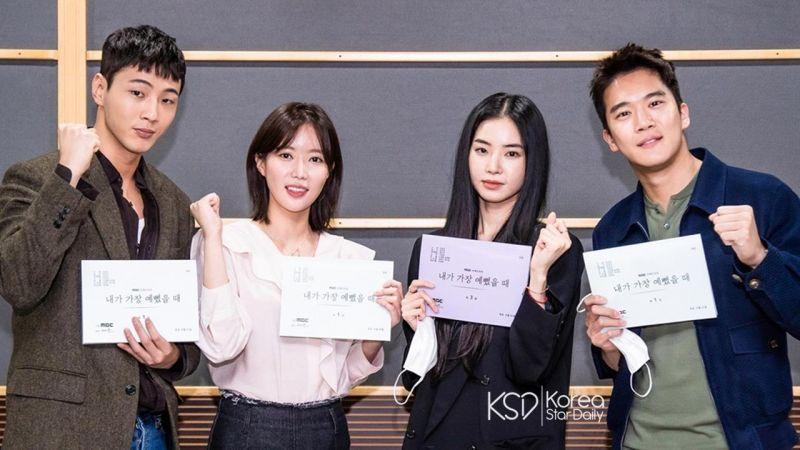 新剧《当我最漂亮的时候》林秀香化身初恋魅力无限,金志洙&河锡辰这对兄弟都想得到她!