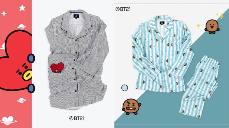 BT21又有新品,这次是睡衣和睡裙啊!阿米们不要犹豫了,买起来就对啦XD!