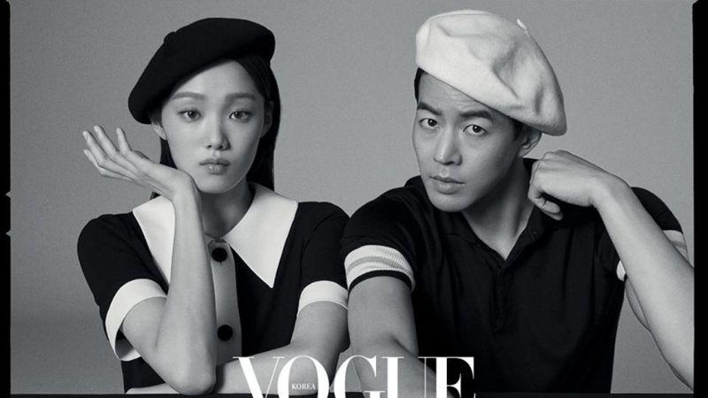「180CP」李相仑X李圣经为时尚杂志拍摄黑白写真「都有对演技的坚持?」