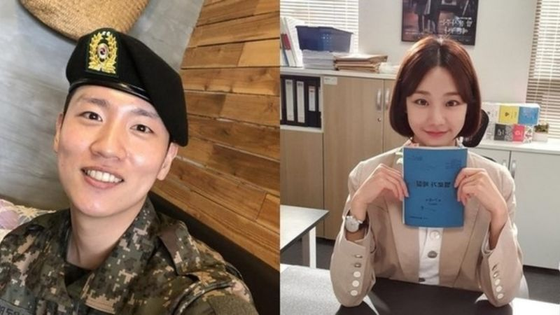 Rapper韩海与曾出演《百日的郎君》的韩智恩正在恋爱中!两人透过朋友介绍,在去年12月开始恋爱♥