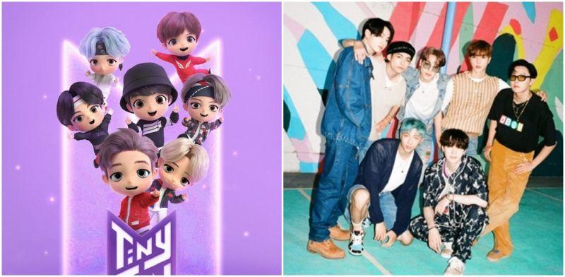 小小BTS「Tiny Tan」来啦!以防弹少年团角色为基础的手游公开