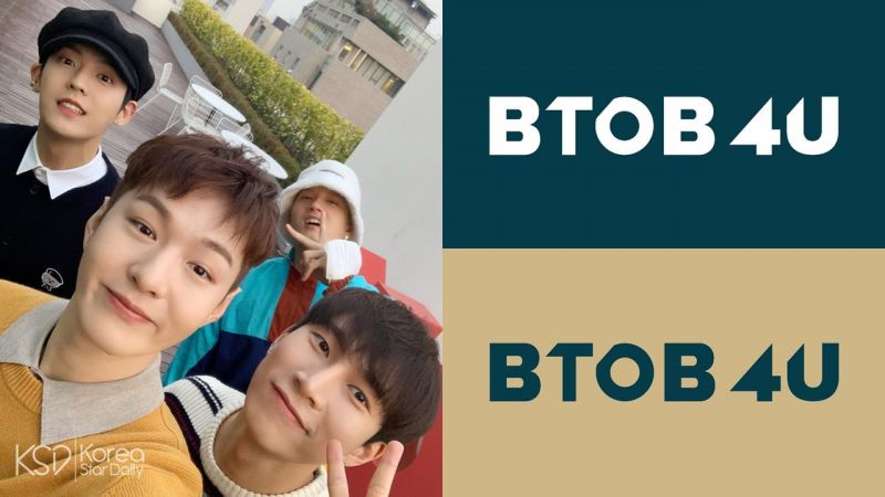 人气男团 BTOB 也推小分队啦!徐恩光带领 BTOB 4U 共四位成员展开活动