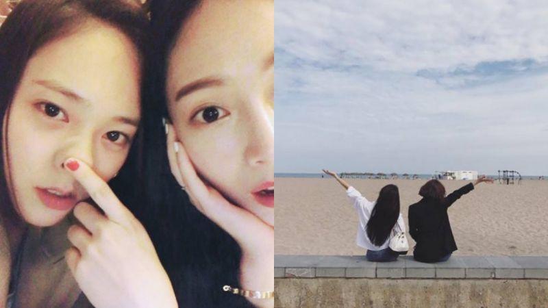 Jessica为妹妹Krystal庆生 IG晒合照&海边互动超有爱
