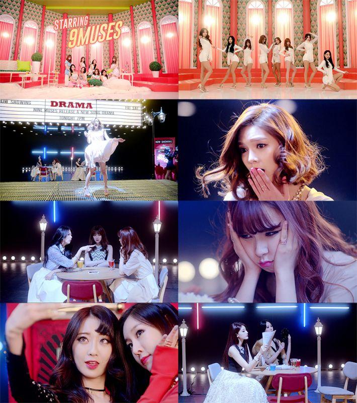 Nine Muses曝《Drama》第2輪宣傳MV 妖嬈性感