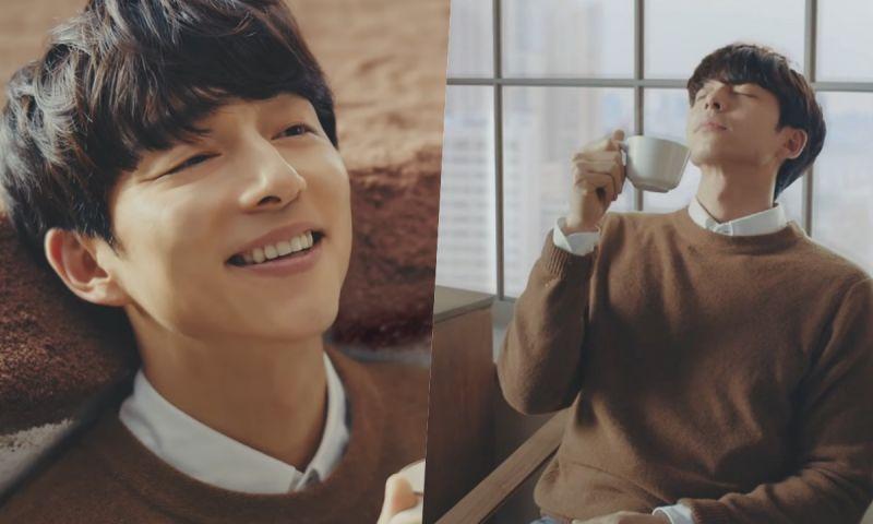 孔刘最新咖啡广告公开! 再次化身「桌面小精灵」帅气又可爱