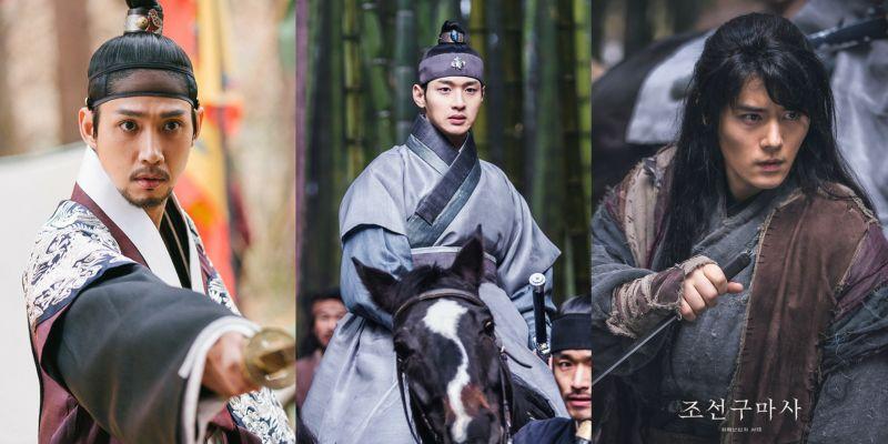 《朝鮮驅魔師》新劇照:朴成勳的猜疑不安vs張東潤與金桐俊、琴世祿的並肩同行
