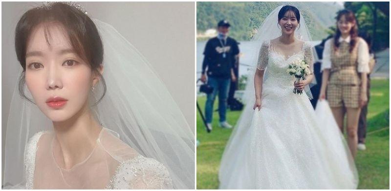 《当我最漂亮的时候》林秀香绝美婚纱照公开
