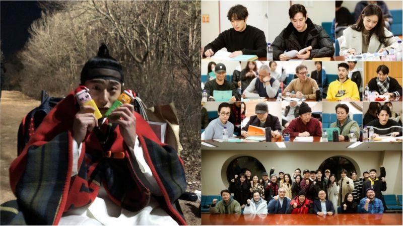 丁一宇拍攝SBS《獬豸》的同時不忘祝大家「聖誕快樂」!與高雅羅、權律等的劇本閱讀現場也公開囉