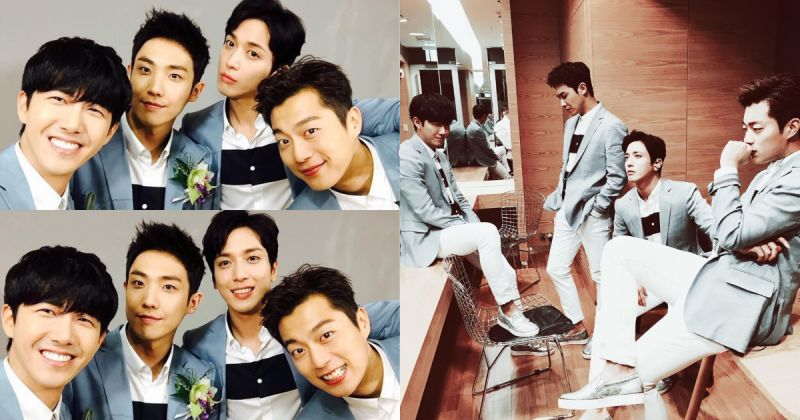Wedding Boys 重出江湖!郑容和、李准、尹斗俊、光熙近期发表新歌