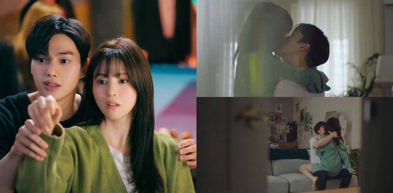《无法抗拒的他》首播:宋江成为对心脏有害的男人,下一集韩韶禧直接坐在腿上拥吻!