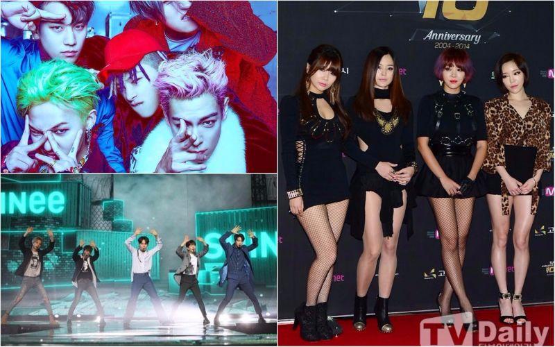 碩果僅存的完整二代團只剩他們了─BIGBANG、SHINee、Brown Eyed Girls
