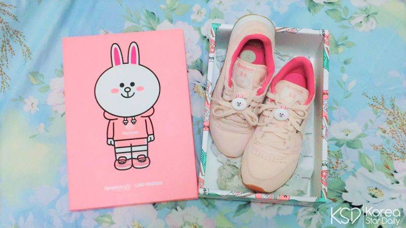 【分享】终於穿上它了~ 超可爱的Reebok X LINE FRIENDS联名款球鞋