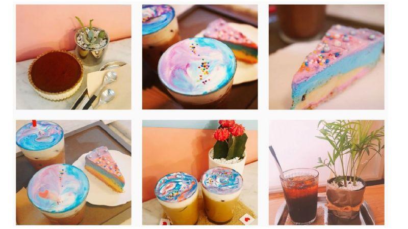 【弘大必吃】又是弘大!超梦幻的宇宙风彩虹蛋糕,连商品名称都让人好喜欢