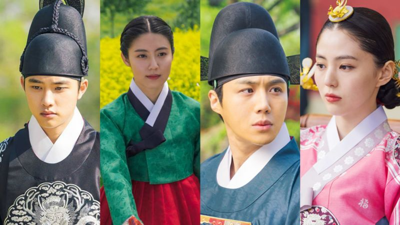 tvN《百日的郎君》剧照公开!都敬秀、南志铉、金善浩、韩素希将演绎悬疑爱情古装剧