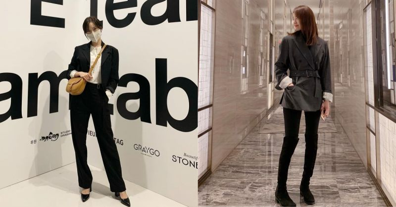 低调就很美!润娥私底下IG的日常时尚穿著,把握原则轻松穿出大长腿!