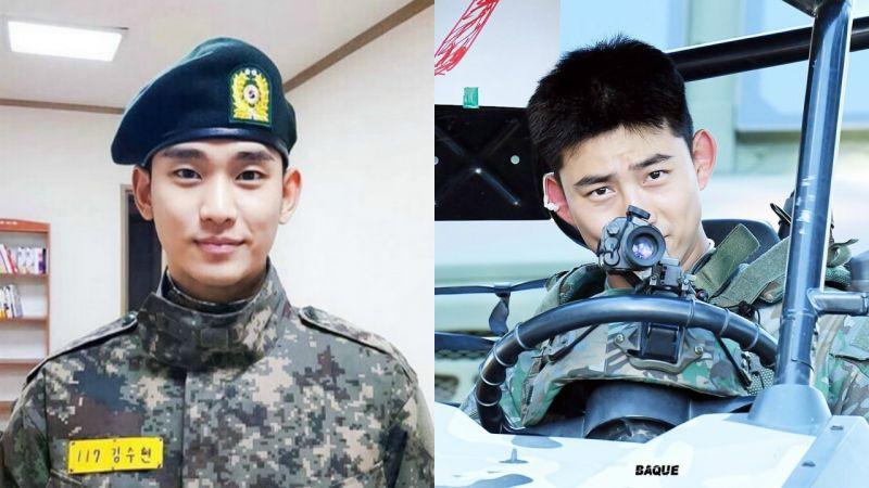淘汰率高達90%以上!金秀賢、2PM玉澤演表現出色,提前晉升為兵長!