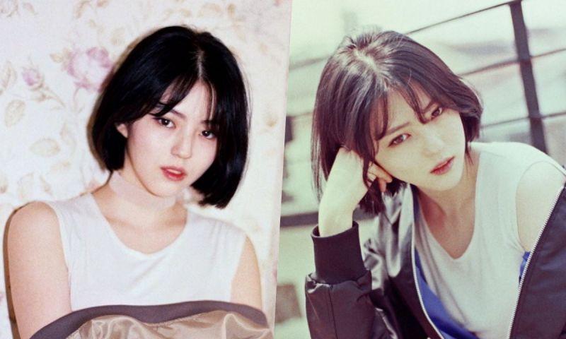 《夫妻的世界》韩素希短发时期照片:清纯甜酷学生妹