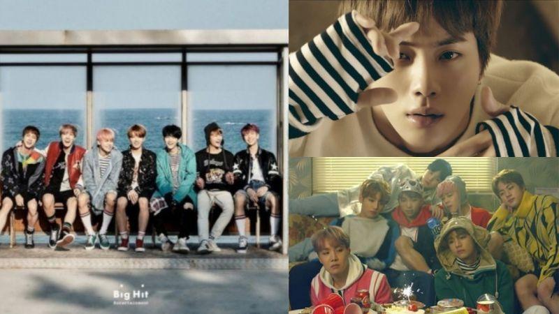 名曲中的名曲!BTS防弹少年团《春日》发行3年8个月在Melon上从未出榜过,还是点赞数第一的歌曲!