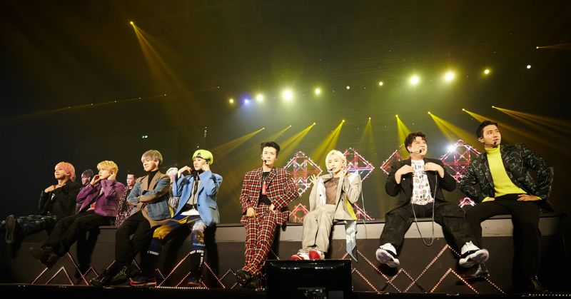 Super Junior 演唱會落幕 談人氣長紅秘訣「成員平均而言都長得帥!」