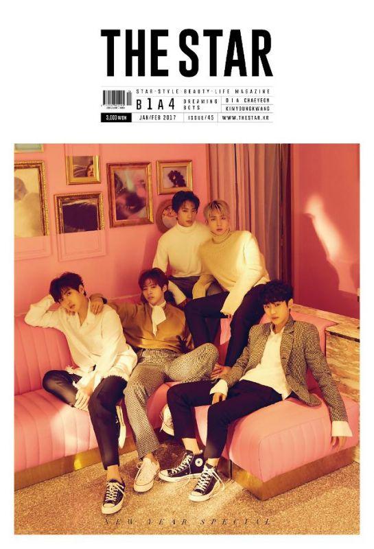 B1A4魅力畫報公開 從少年變身為真男人