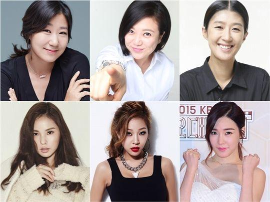 KBS推新综艺《姐姐们的SLAM DUNK》 少时Tiffany等人加盟