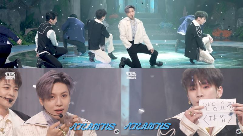 Ending比打歌忙!舞台结束忙著掏口袋的SHINee成员们,Key还宣布:「Ending妖精罢工」