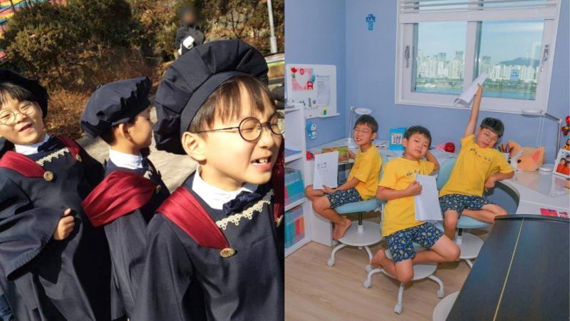 宋一国IG更新「三胞胎」大韩、民国、万岁制作做的书!真的每个人的书名都很符合自己呢 XD